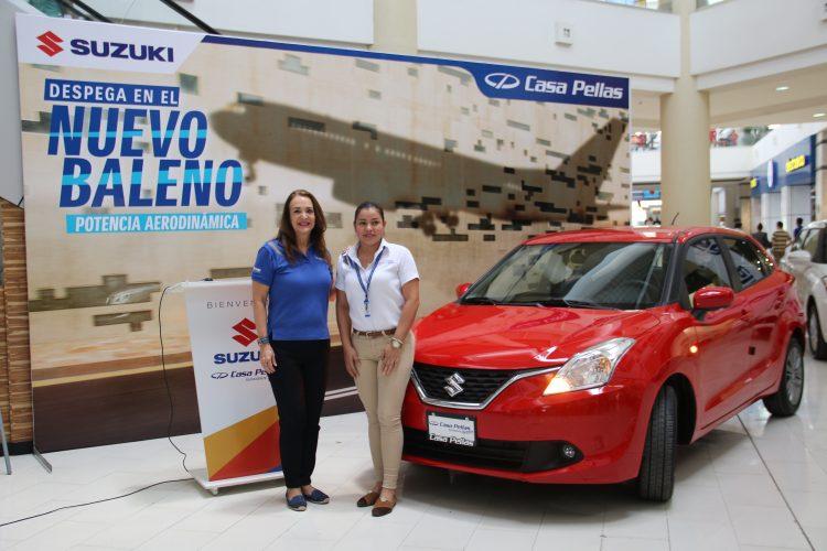 Casa Pellas, Nuevo Suzuki, vehículo