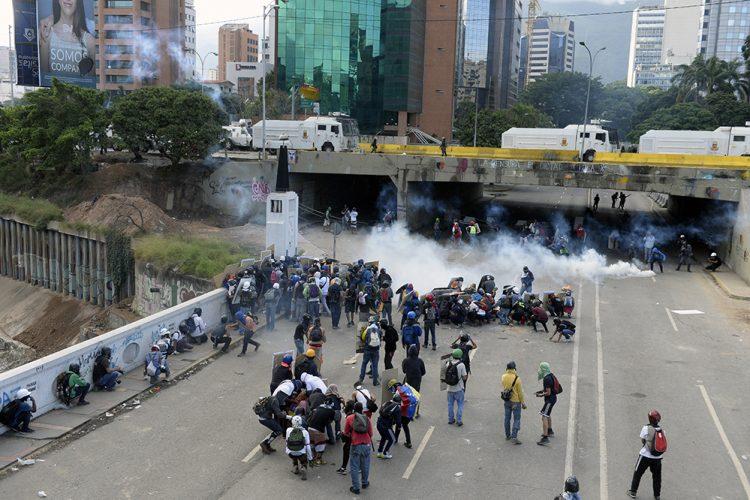 protestas en Venezuela, Venezuela, Caracas