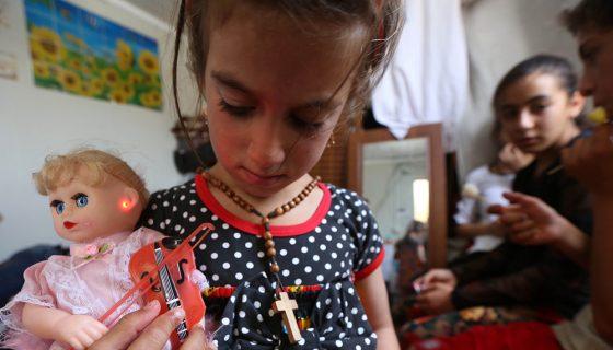 niña iraquí, Irak, Estado Islámico