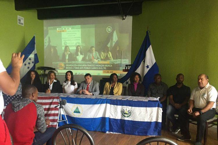 Activistas comunitarios de Nicaragua, Honduras, El Salvador y Haití, se han unido para solicitar un alivio migratorio a miles de inmigrantes sin estatus legal en Estados Unidos.