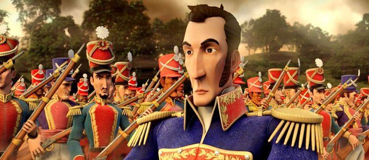 El cineasta argentino Juan Pablo Buscarini se enfrentó al reto de contar la vida de Simón Bolívar en el primer filme latinoamericano de animación. LAPRENSA/EFE/Orinoco Films