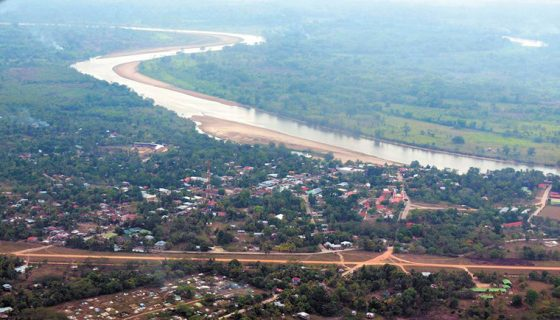 río Coco, policía desaparecido