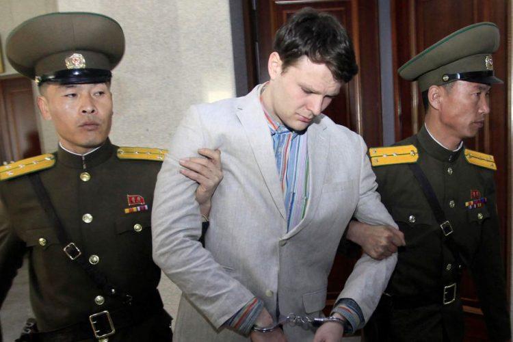 Otto Warmbier, Corea del norte, estudiante en coma