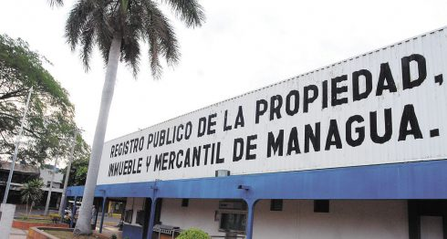Nicaragua, registro de la propiedad