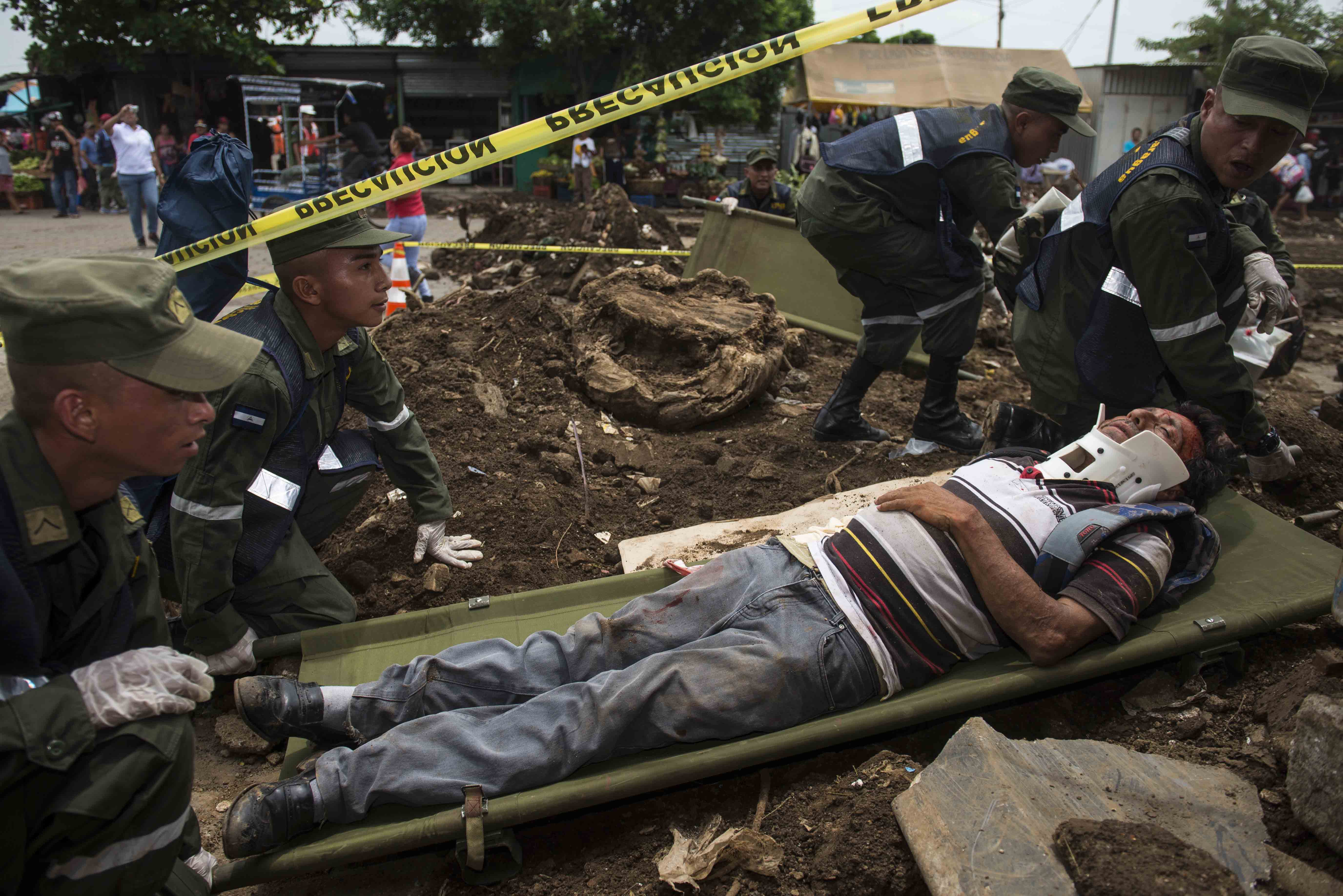 """Nicaragua """"despierta"""" después de poco registro de sismos"""