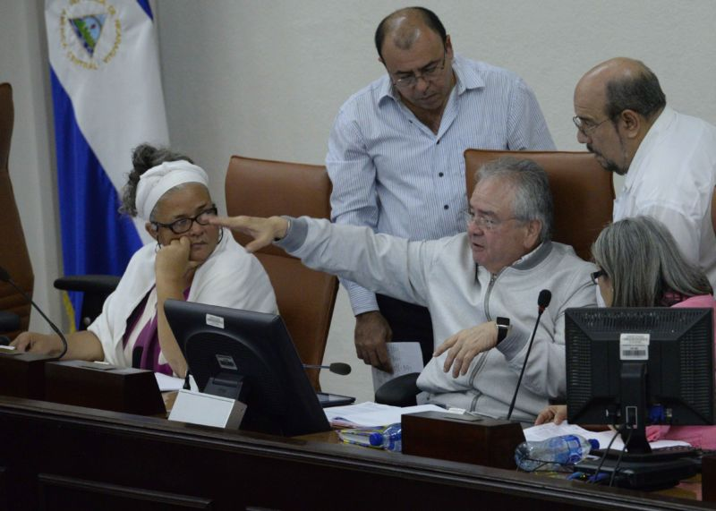Asamblea Nacional , Gustavo porras