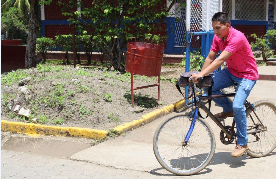Potosí, Rivas, bicicleta