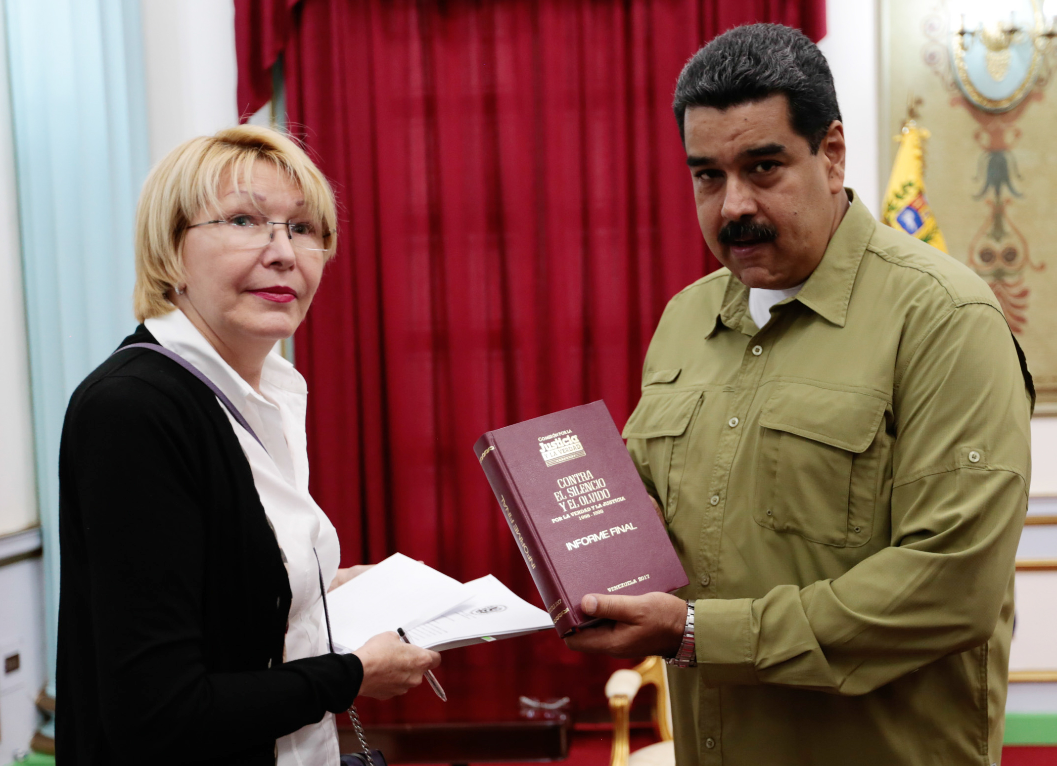 Luisa Ortega, Venezuela, Nicolás Maduro