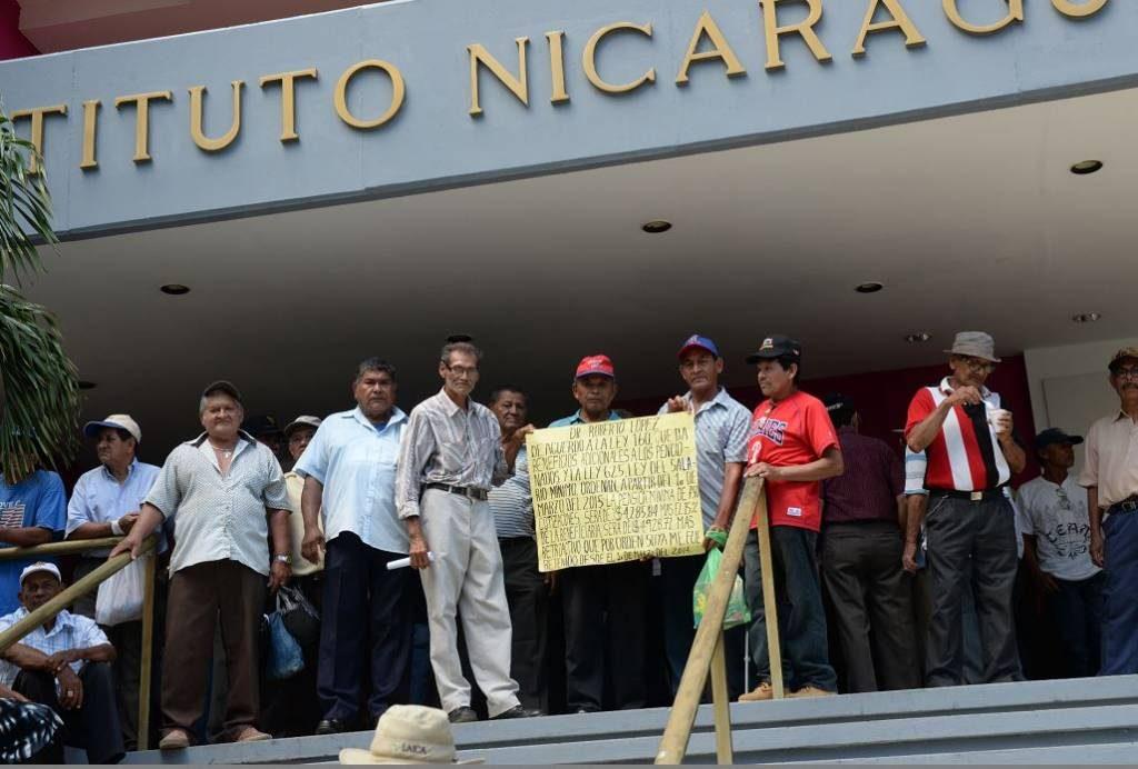 FMI, pensionados, INSS, Nicaragua, pensión reducida