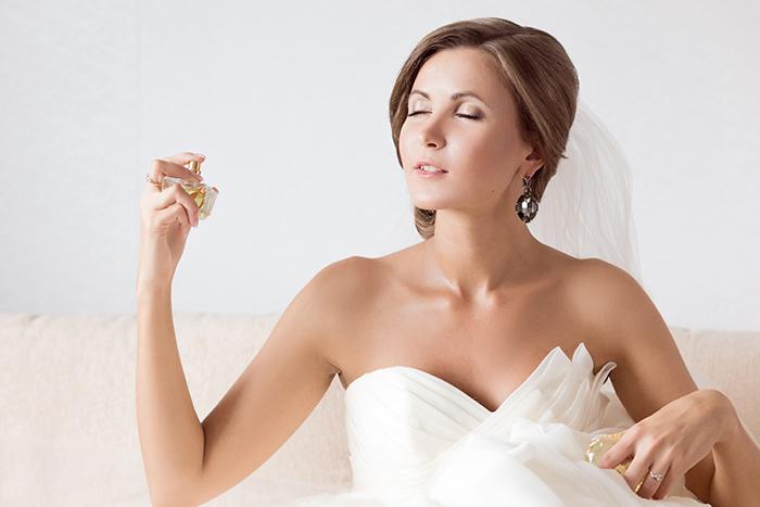 el perfume para el día de tu boda