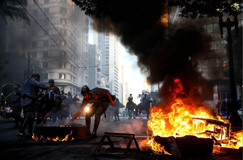 Brasil, huelga general, Michel Temer, protestas en Brasil