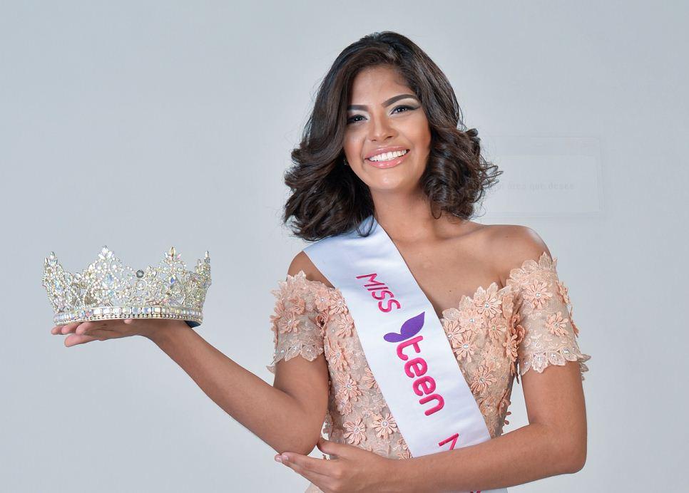 Sheynnis Palacios, Miss Teen Nicaragua,