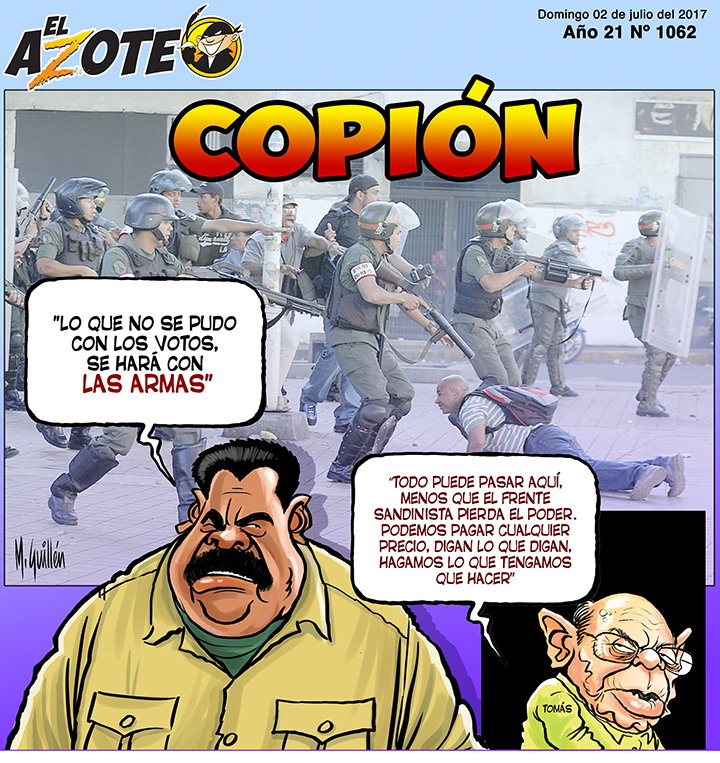 El Azote, Nicolás Maduro, Manuel Guillén , Roberto Rivas