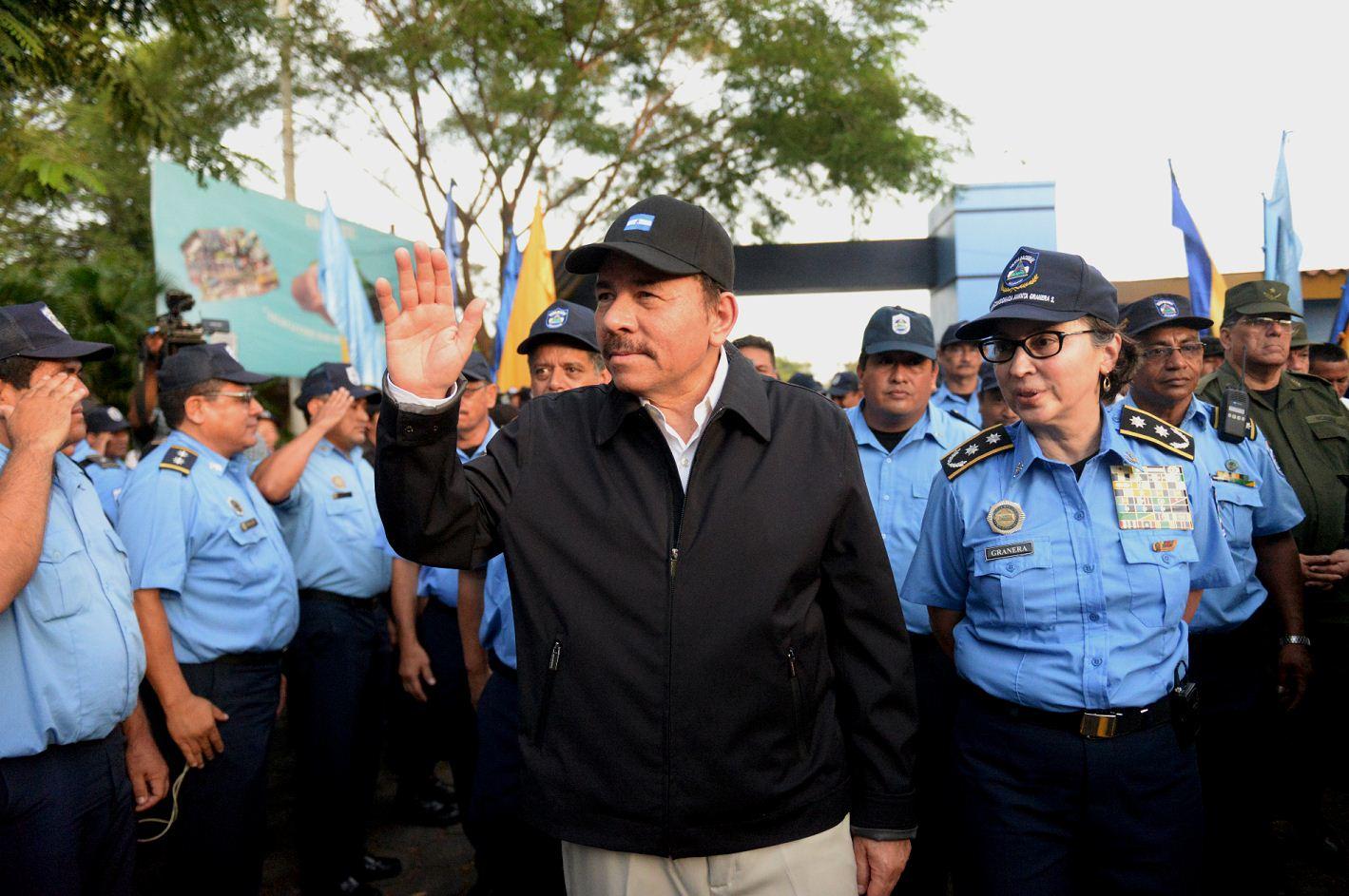 Policía Nacional. Policía de Nicaragua, Nicaragua, relevo Policía