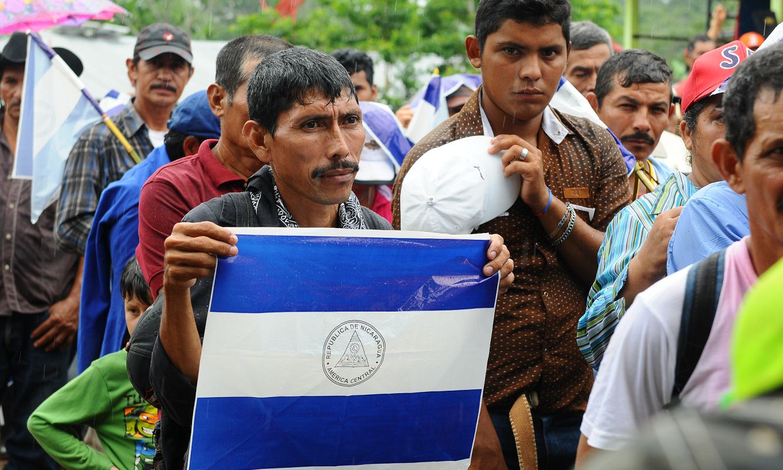 la fonseca, Nicaragua, marcha anticanal canal interoeánico de Nicaragua