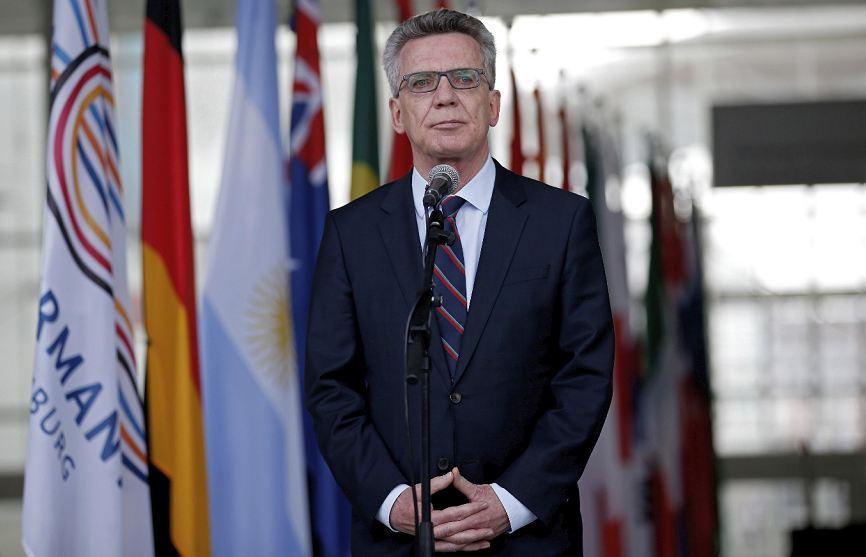 Thomas de Maiziere, Alemania, Ministro del Interior de Alemania