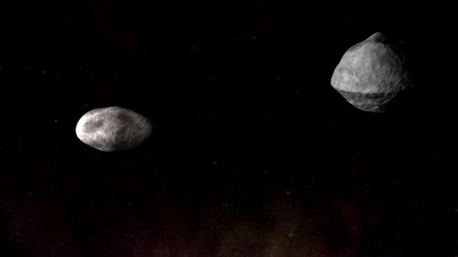 Tierra, asteroide, NASA