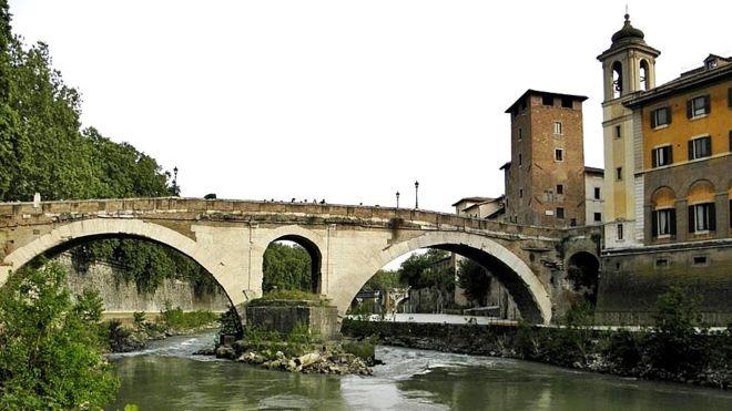 concreto, Imperio Romano