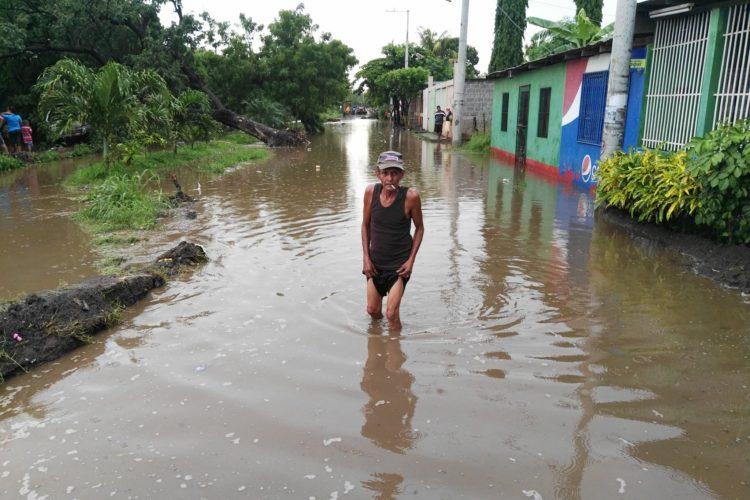 Lluvia en Managua, Managua, calles inundadas, Tipitapa
