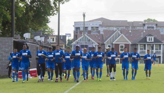 Copa Oro, Copa Oro 2017, Selección Nicaragüense de Futbol, Azul y Blanco