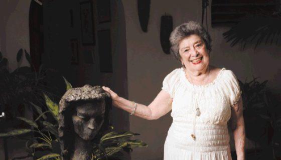 Poeta Claribel Alegría, Premio Reina Sofía de Poesía Iberoamerica. LAPRENSA/URIEL MOLINA