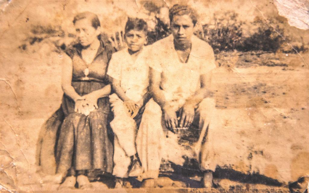 De izquierda a derecha: Natalia Sánchez, Marco Conto y Arístides Pavón. LA PRENSA/ Cortesía de la familia.