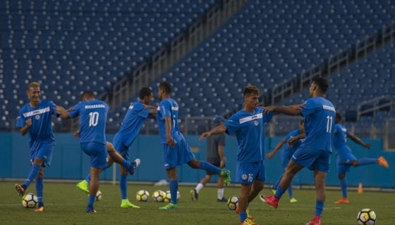 La Selección Nicaragüense de Futbol se enfrentará por primera vez a Martinica. LA PRENSA/JADER FLORES