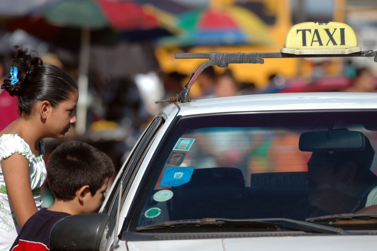 Camoapa, taxis ilegales,