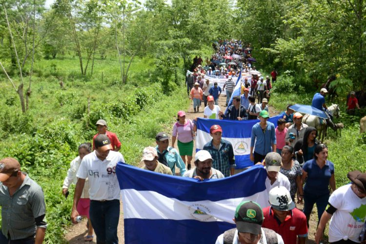 campesinos, marcha anticanal