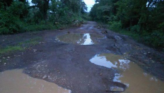 Boaco, Nueva Guinea, caminos dañados