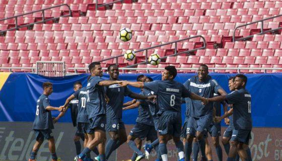 Nicaragua contra Panamá, Copa Oro, Azul y Blanco, Selección Nicaragüense de Futbol, nicaragua vs. panama
