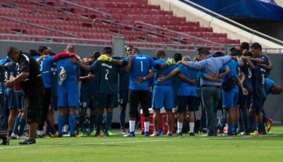Azul y Blanco, Henry Duarte, Selección Nicaragüense de Futbol, Copa Oro 2017, Copa Oro, Nicaragua,