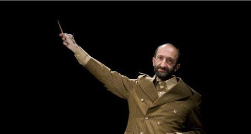 El actor Boris Schoemann de la compañía teatral Los Endebles. LAPRENSA/Cortesía