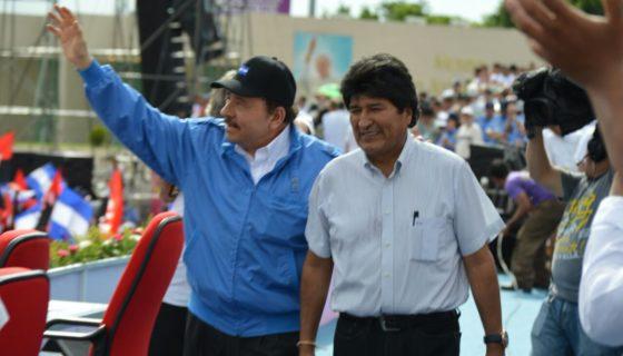 Evo Morales, Daniel Ortega, reelección, Bolivia, Nicaragua, Centroamérica