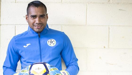 Justo Lorente, arquero de la selección de futbol de Nicaragua. Oscar Navarrete/ La Prensa.