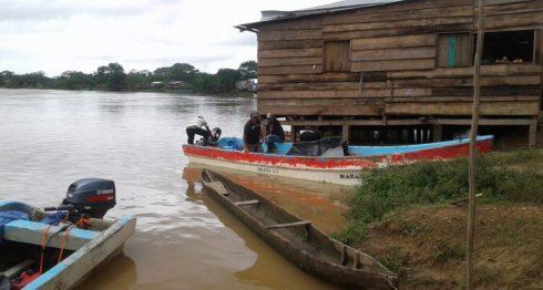 comunidades de Prinzapolka, fuertes lluvias