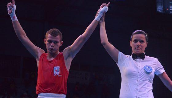 Ángel Jarquín perdió en su segundo combate en el Campeonato Mundial de Boxeo Élite de Alemania. LA PRENSA/ARCHIVO