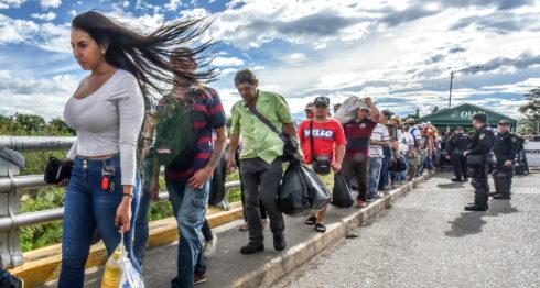 venezolanos, Colombia,