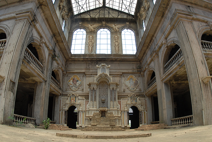 Así quedó la vieja Catedral de Managua tras el terremoto de 1972. LA PRENSA/ ÓSCAR NAVARRETE