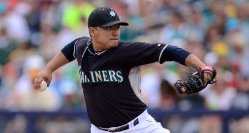 Erasmo Ramírez ha vuelto a los Marineros de Seattle, justo donde inició su carrera. LA PRENSA/ARCHIVO