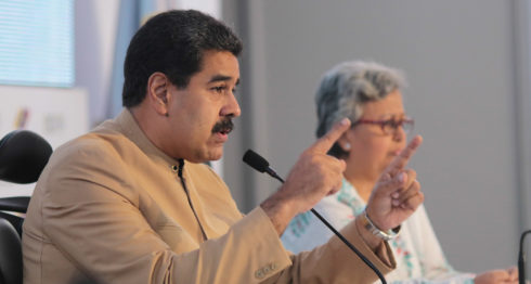 Nicolás Maduro, Venezuela, sanciones económicas