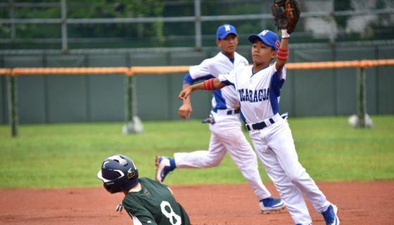 Nicaragua alcanzó su tercera victoria en cuatro partidos en la Copa Mundial Sub-12, al imponerse a Australia. Foto: Tomada de WBSC
