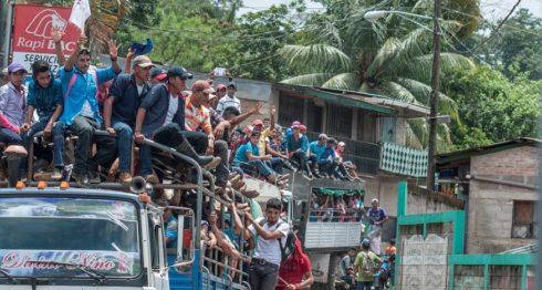 marcha campesina, Nicaragua, Jinotega