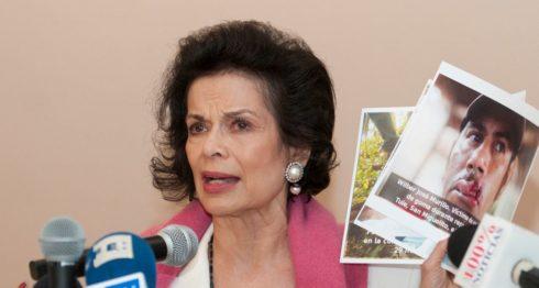 bianca jagger, Nicaragua, canal interocánico, amnistía internacional, derechos humanos, campesinos