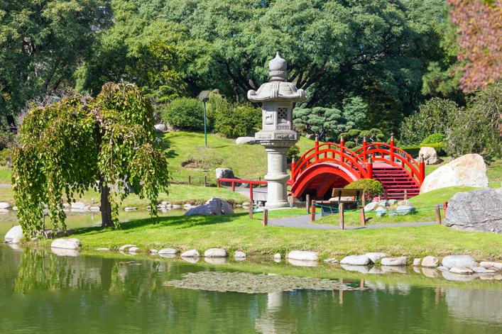 El Jardín Japonés de Buenos Aires también es ideal para dar paseos. Está ubicado en el barrio Retiro. LA PRENSA / Thinkstock