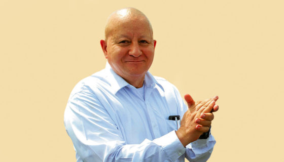 Telémaco Talavera, rector de la UNA, dirigente del CNU y vocero del proyecto del canal interoceánico en Nicaragua. LA PRENSA/ ARCHIVO