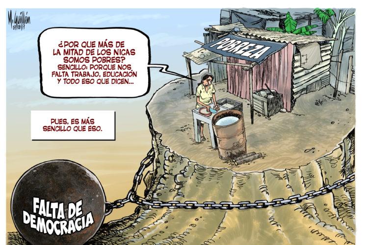 democracia, pobreza, Nicaragua, economía
