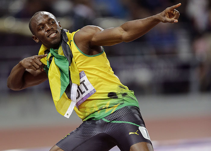 El jamaicano Usain Bolt iene 11 títulos mundiales y ocho oros olímpicos.