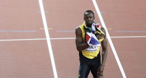 Usain Bolt correrá este sábado por última vez en su carrera en el atletismo, en el Mundial de Londres. LA PRENSA/AFP/Adrian Dennis
