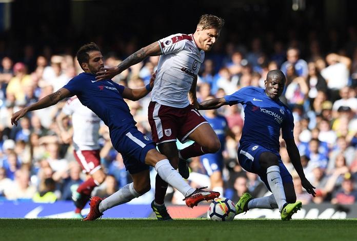 Imagen del partido entre el Chelsea y el Burnley. Foto: LA PRENSA/ EFE